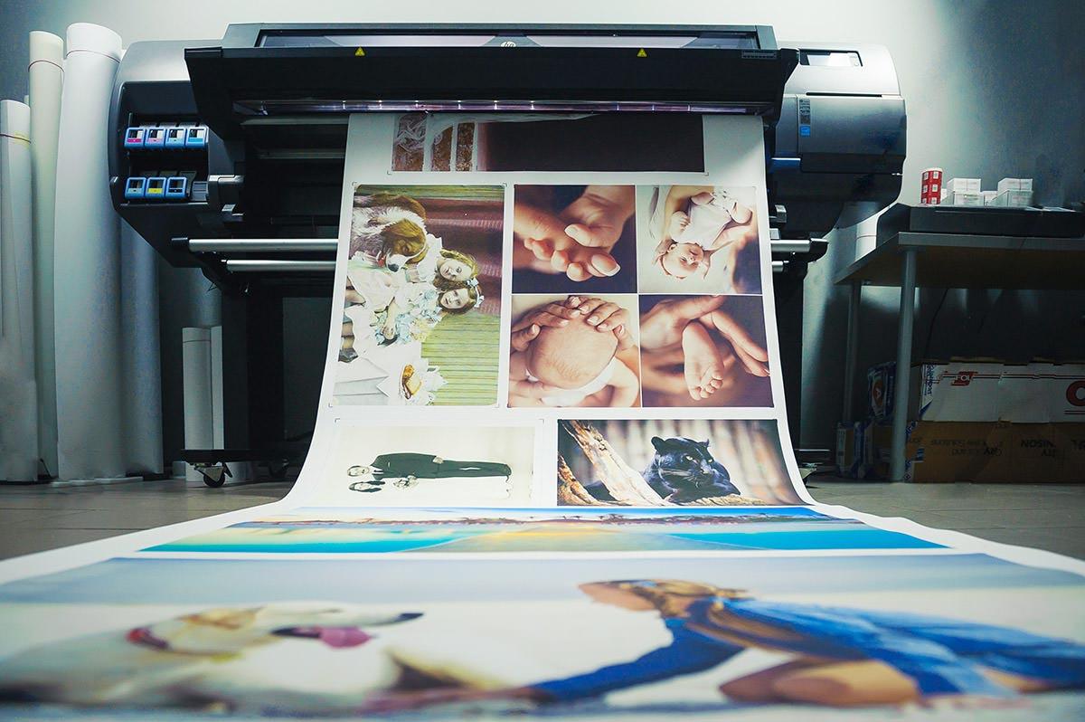 Drukarka lateksowa drukująca płótno canvas
