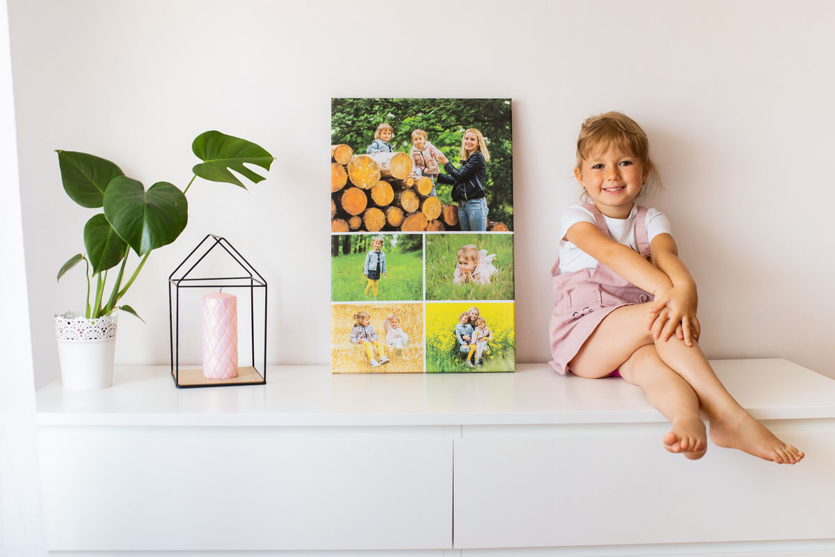 dziecko-z-fotokolazem-rodzinnym
