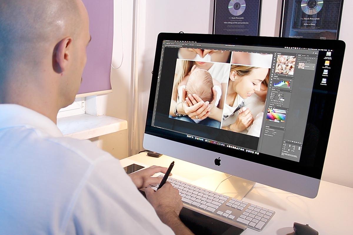 fotoedycja i przygotowanie zdjęć do druku fotoobrazów