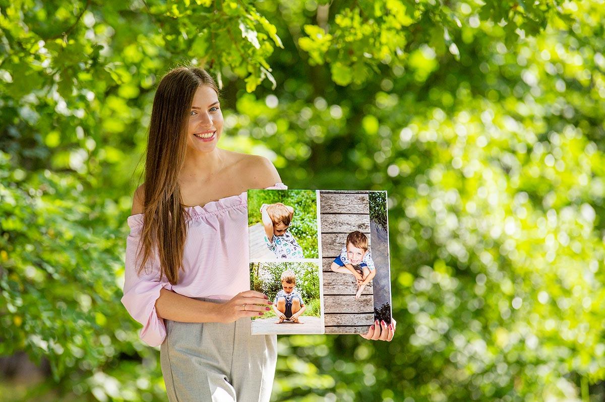 fotoobraz kolaż zdjęć prezentem dla bliskich