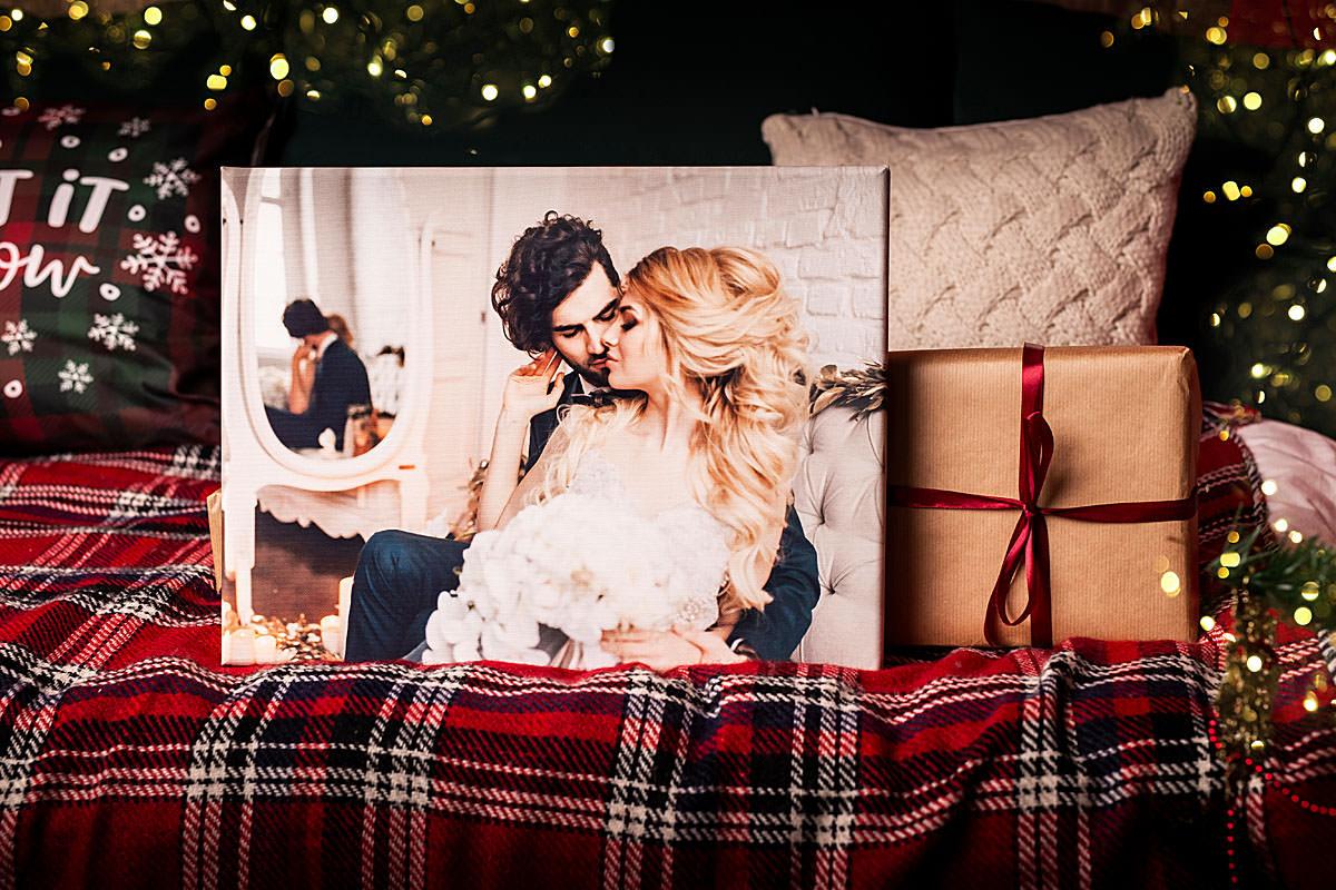 fotoobraz na płótnie ze zdjęcia świąteczny