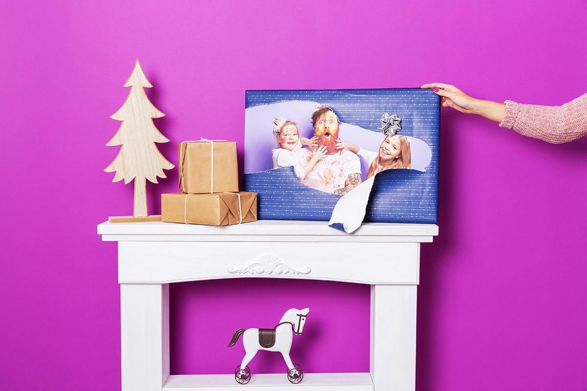 Fotoobraz na prezent pod choinkę
