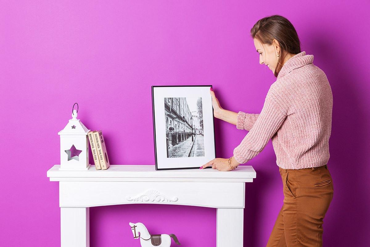 Fotoobraz w ramce idealnym prezentem na święta