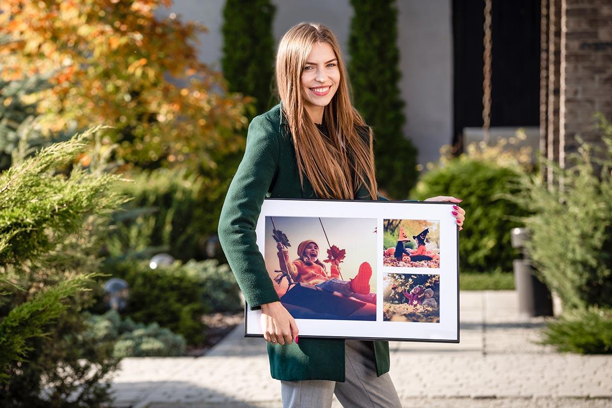 Obraz w ramce prezentem dla dziecka